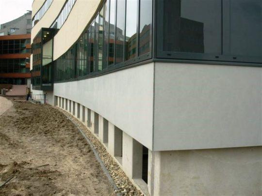 Styrock utiliteitsbouw